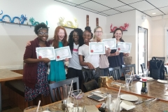 Girl Code 2018 Spring Semester Graduation Dinner